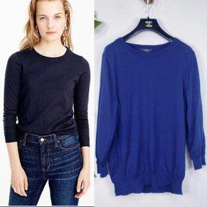 J.Crew Navy 100% Merino Wool Pullover Sweater XL
